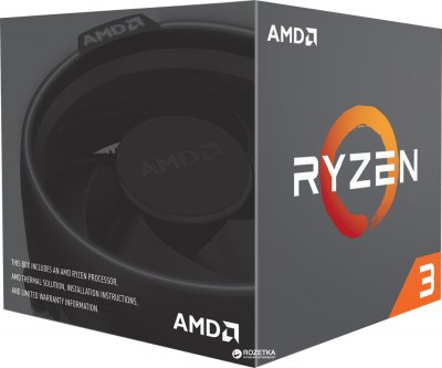 Процесор AMD Ryzen 3 1200 3.1 GHz/8MB (YD1200BBAEBOX) sAM4 BOX