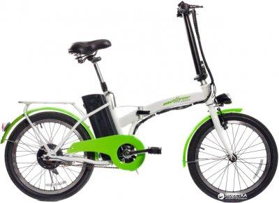 Электровелосипед Maxxter Urban Бело-зеленый