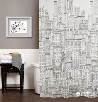 Шторка для ванної Мій Дім City 180x180 см NJ10254