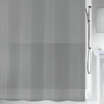 Шторка для ванної Spirella Bio PVC 180x200 PEVA Сіра (10.20153)