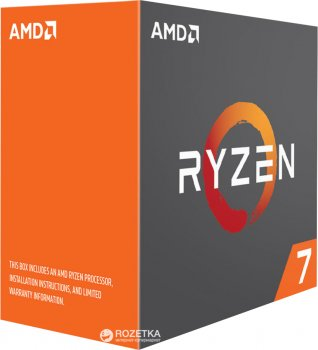 Процесор AMD Ryzen 7 1700X 3.4 GHz/16MB (YD170XBCAEWOF) sAM4 BOX