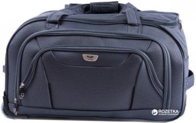 Дорожная сумка на колесах Wings 1055 Малая Серая (Ws00012)