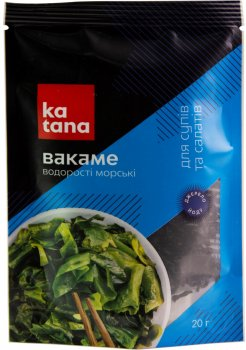 Водорості Вакаме Katana 20 г (4820131230383)