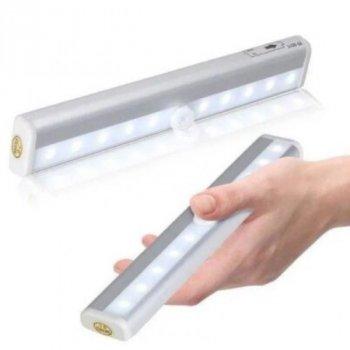 Бездротовий світильник Motion Brite з датчиком руху, з ABS-пластика білий (836234)