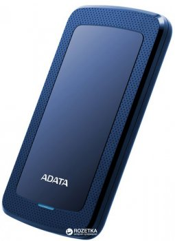 Жорсткий диск ADATA DashDrive HV300 1TB AHV300-1TU31-CBL 2.5 USB 3.1 External Slim Blue