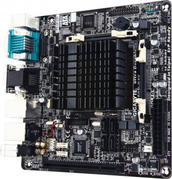 Материнська плата Gigabyte GA-N3160N-D3V (Intel Celeron N3160, SoC, PCI)