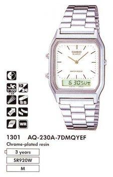 Годинник CASIO AQ-230A-7DUQ
