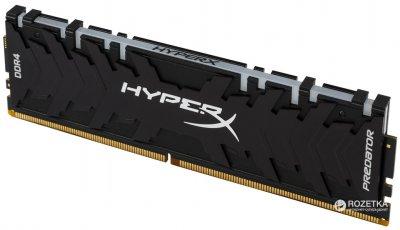 Оперативная память HyperX DDR4-2933 8192MB PC4-23500 Predator RGB (HX429C15PB3A/8)
