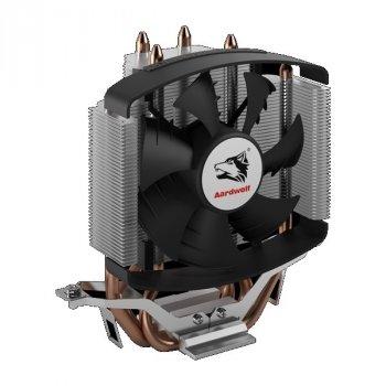 Кулер процесорний Aardwolf Performa 5X (APF-5X-92) Intel: 1150/1151/1155/1156/775, AMD: FM2/FM2+/FM1/AM3+/AM3/AM2+/AM2/AM4, 134х127х61 мм, 4-pin