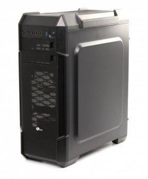 Корпус ProLogix A10/1003 Black PSS-600W-12cm; 1*USB 3.0+2*USB 2.0, 3 hdd, 5 sata, 6pin и 8pin разъемы