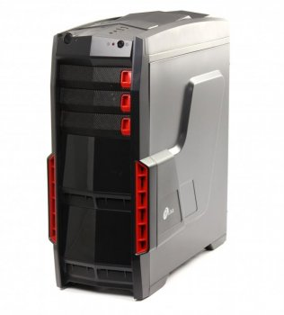 Корпус ProLogix A07C/7026 Black PSS-550W-12cm; 1*USB 3.0+2*USB 2.0, 3 hdd, 5 sata, 6pin и 8pin разъемы