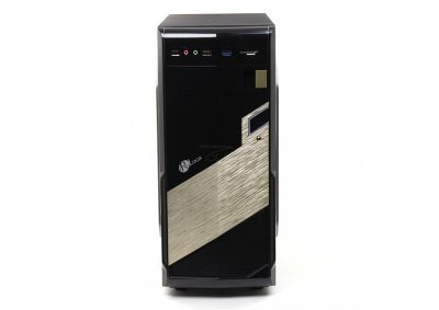 Корпус ProLogix B20/2004 Black/Gold Без БП;card reader, USB 3.0, крепление для SSD