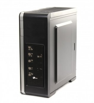 Корпус ProLogix A07C/7025 Black PSS-550W-12cm; Cardreader, 1*USB 3.0+2*USB 2.0, 3 hdd, 5 sata, 6pin и 8pin разъемы