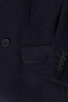 Пальто H&M темно синий 7505650