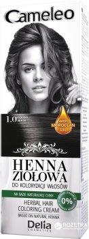 Травяная краска для волос с хной Delia cosmetics Cameleo Лавсония