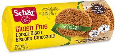 Зерновое печенье Dr. Schar Cereal Bisco 220 г (х6) (8008698005064)
