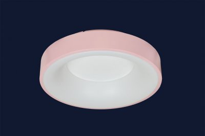 Плоский Стельовий Світильник З Пультом 36Вт Levistella 752L57 Pink Рожевий