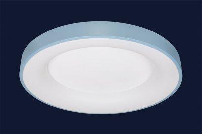 Плоский Стельовий Світильник З Пультом 78Вт Levistella 752L59 Blue Синій