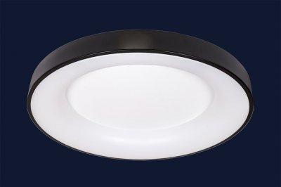 Плоский Стельовий Світильник З Пультом 78Вт Levistella 752L59 Bk Чорний