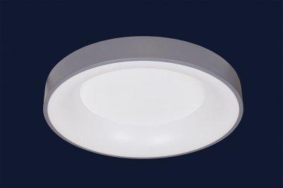 Плоский Стельовий Світильник З Пультом 52Вт Levistella 752L58 Gray Сірий