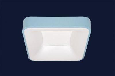 Плоский Стельовий Світильник З Пультом 52Вт Levistella 752L61 Blue Синій