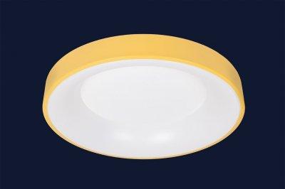 Плоский Стельовий Світильник З Пультом 52Вт Levistella 752L58 Yellow Жовтий