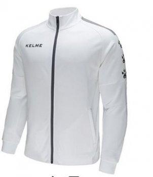 Олімпійка (спортивка) Kelme Training Jacket біло-чорна 3881324.9103