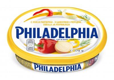 Сыр Philadelphia с луком, перцем и укропом 175 г