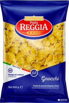 Макароны Pasta Reggia 64 Gnocchi Ньокки 500 г (8008857300641)