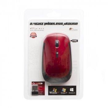 Миша ZBS Wireless 3500 Блістер Red (W3500)