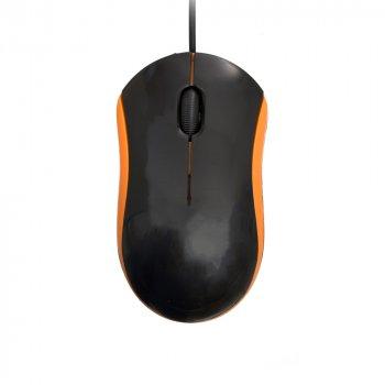 Миша ZBS M100 USB Black Orange (M100)