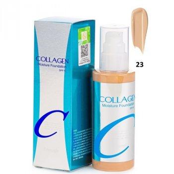 Увлажняющая тональная основа с коллагеном №23 Enough Collagen Moisture Foundation SPF15