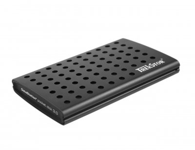 "Жорсткий диск TrekStor DataStation Pocket Click 320GB TS25-320PCL 2.5"" USB 3.0 External Black Refurbished"
