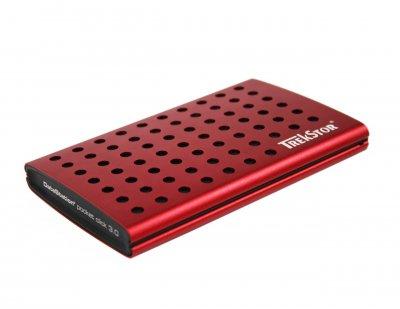 "Жорсткий диск TrekStor DataStation Pocket Click 320GB TS25-320PCLR 2.5"" USB 3.0 External Red Refurbished"