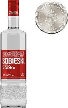 Водка Sobieski премиум 0.7 л 40% (4770053221757)