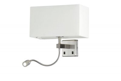 Бра Crystal Lux JEWEL AP2 WH