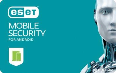 ESET Mobile Security для Android (2 ПК) ліцензія на 1 рік Базова (електронний ключ у конверті)
