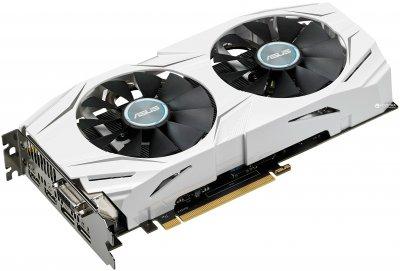 Asus PCI-Ex GeForce GTX 1060 Dual 6GB GDDR5 (192bit) (1506/8008) (DVI, 2 x HDMI, 2 x DisplayPort) (DUAL-GTX1060-6G)