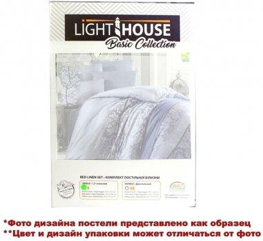 Комплект постільної білизни Lighthouse Бязь Голд Night Blue 200x220 (2200000541758)