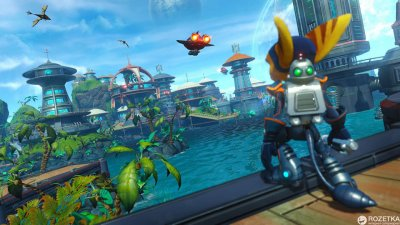 Ratchet & Clank - Хиты PlayStation (PS4, русская версия)