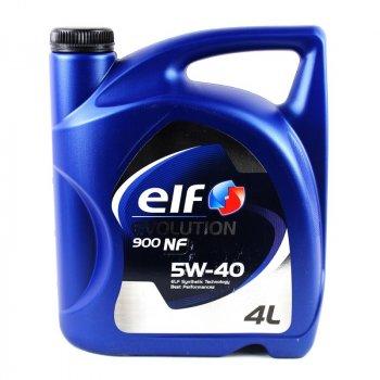 Моторное масло ELF Evolution 900 NF 5W-40 4L (194873)