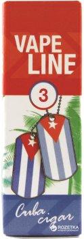 Рідина для електронних сигарет Vape Line Cuba Cigar 10 мл (Кубинська сигара)