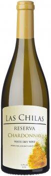 Вино Las Chilas Reserva Chardonnay белое сухое 0.75 л 12.5% (7808765732791)