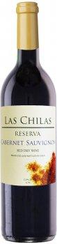 Вино Las Chilas Reserva Cabernet Sauvignon красное сухое 0.75 л 12.5% (7808765732807)