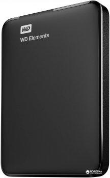 Жорсткий диск Western Digital Elements Portable 750GB WDBUZG7500ABK-WESN 2.5 USB 3.0 External Black