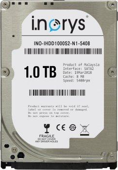 Жорсткий диск i.norys 1TB INO-IHDD1000S2-N1-5408 5400rpm 8MB 2.5 SATA II