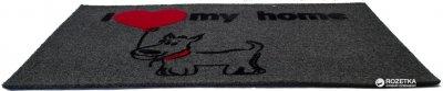 Придверний килимок IzziHome Luna Italyan Gri My Home Kopek 40x60 (2200000542205)