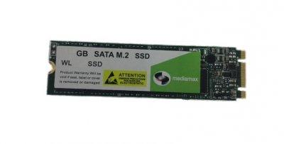 Накопичувач SSD 250GB Mediamax M. 2 2280 SATAIII 3D NAND TLC (WL 250 SSD M. 2) - Refubrished