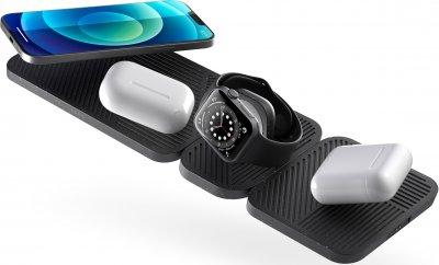 Беспроводное зарядное устройство Zens Modular Apple Watch Charger (add on platform) Black (ZEMAW1A/00)
