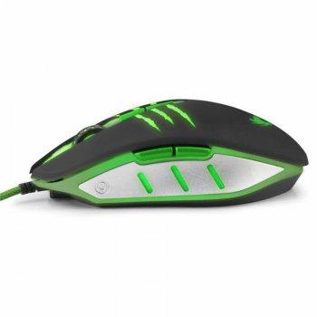 Миша Esperanza MX301 Rex (EGM301) Black/Green USB